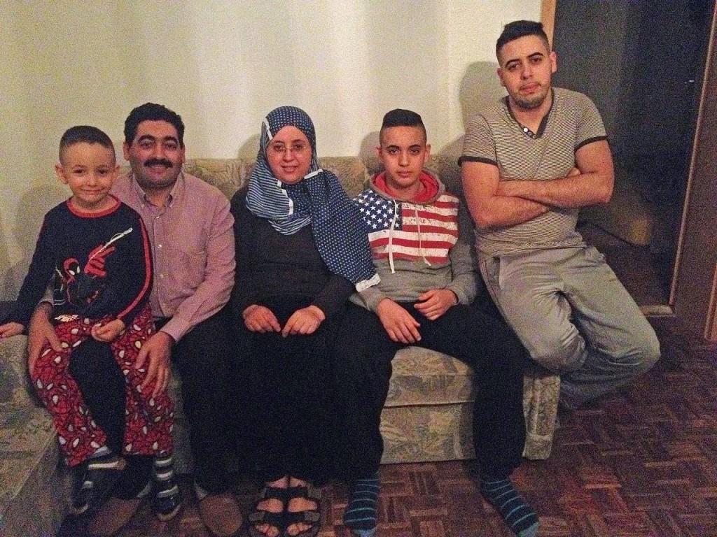 La famille El Kadi.