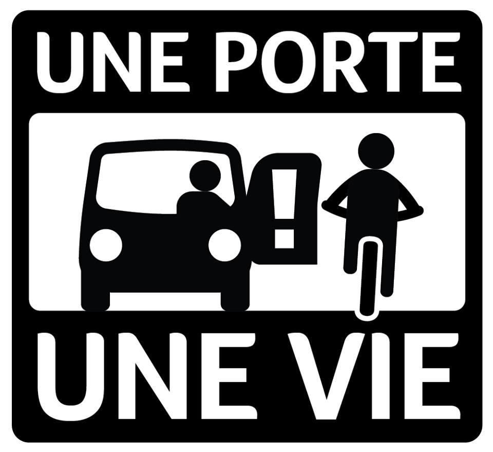 La Campagne de sensibilisation contre l'emportiérage à Montréal. (photo www.uneporteunevie.com