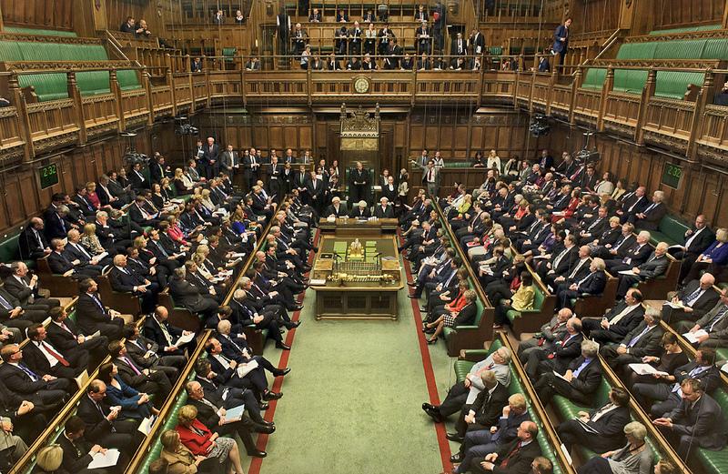 Débat sur le discours de la Reine à la Chambre des communes en 2013 (photo flickr/UK Parliament)
