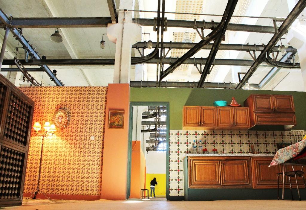 Les décors ont été réalisés par un scénographe marocain. (Photo MarieTarteret/8e étage)