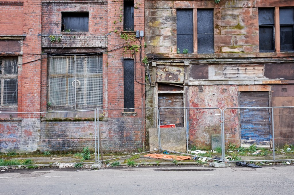 Quartier de Calton, dans le East End, Glasgow (photo Thomas Halkin/8e étage)