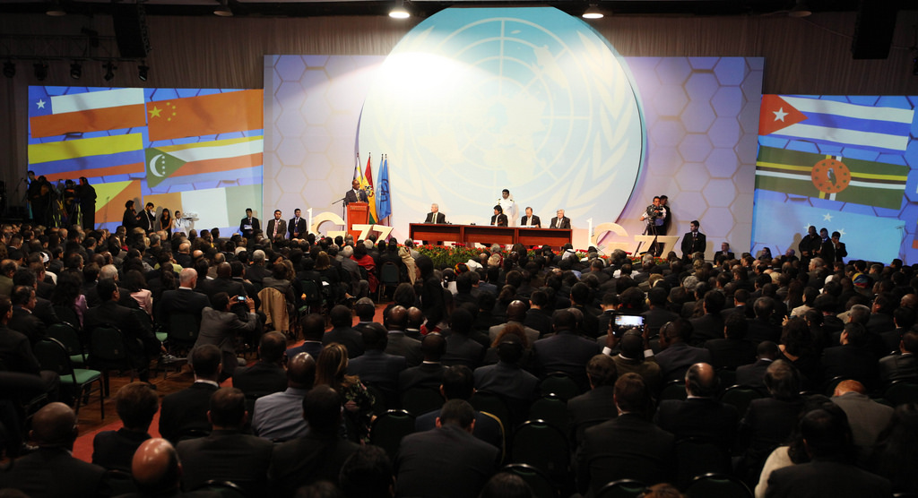 Sommet du G77 + Chine, 14 juin 2014, Santa Cruz, Bolivie. (photo flickr/presidenciaecuador)