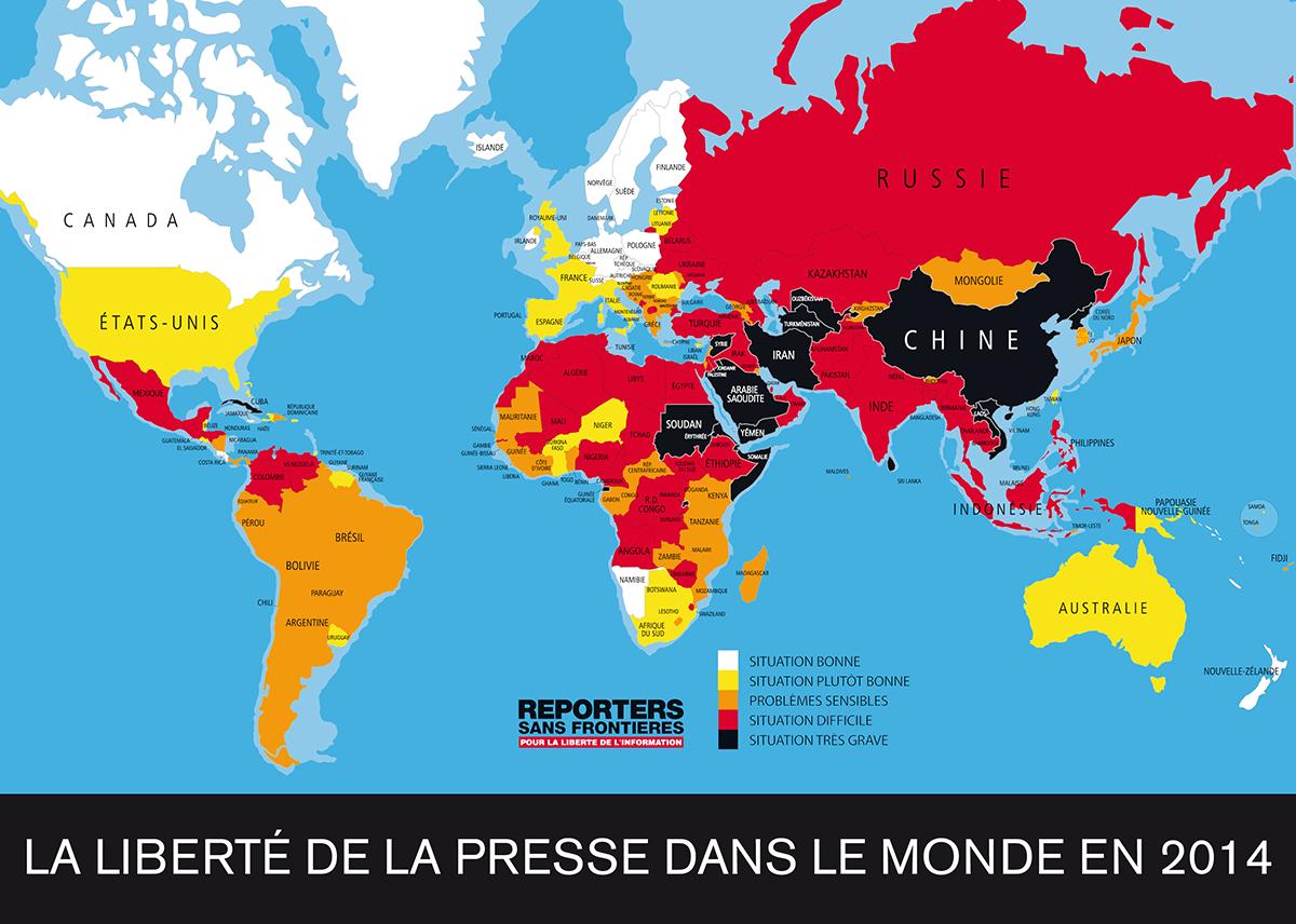 Carte Australie Chine.La Censure De La Presse En Chine Franchit Une Nouvelle Limite