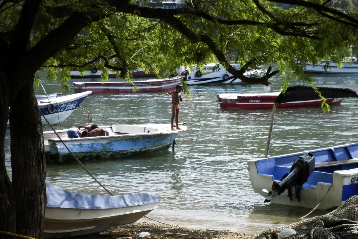 Taganga, sur la côte Caraïbe. (photo Camille Jourdan)
