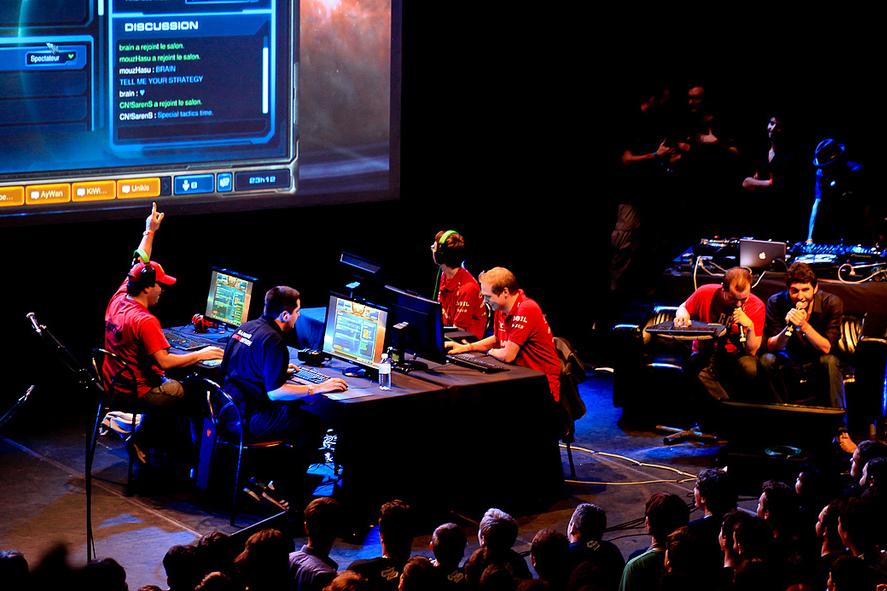 La O'Gaming 2 à Paris le 11 novembre 2011. (photo flickr/studiosushi)