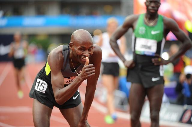 L'athlète américain Robert Cheseret est originaire du Kenya. Tout comme son frère ainé, Bernard Lagat, il a été naturalisé étasunien. (photo flickr/imcom)