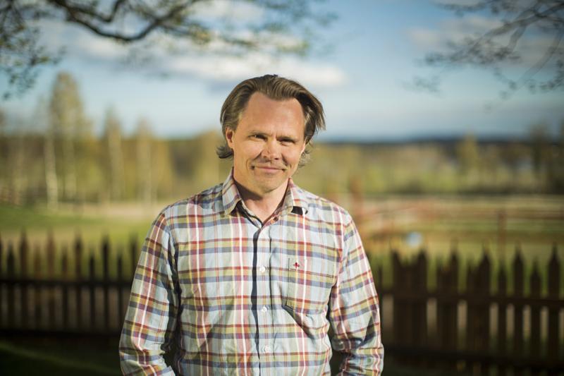 Mikael Genberg, l'artiste suédois à l'origine du projet. (photo Flip-Flop Interactive)