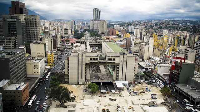 Caracas, capitale du Venezuela. (photo flickr/reindertot)