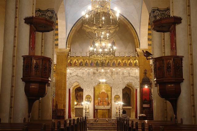 La cathédrale d'Alep en 2009. (photo flickr/charlesfred)