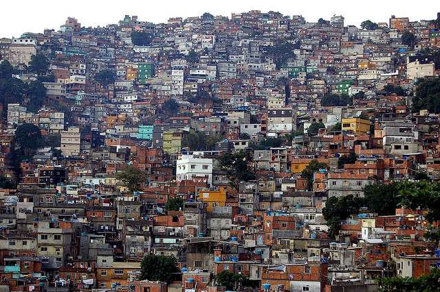 La favela de Rocinha (photo flickr/metamorfose_ambulante)