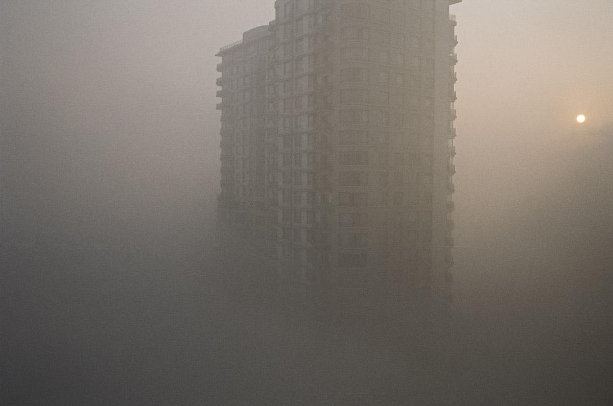 Un aperçu de la pollution soi disant causée par la viande fumée, à Pekin. (photo flickr/jue wang)