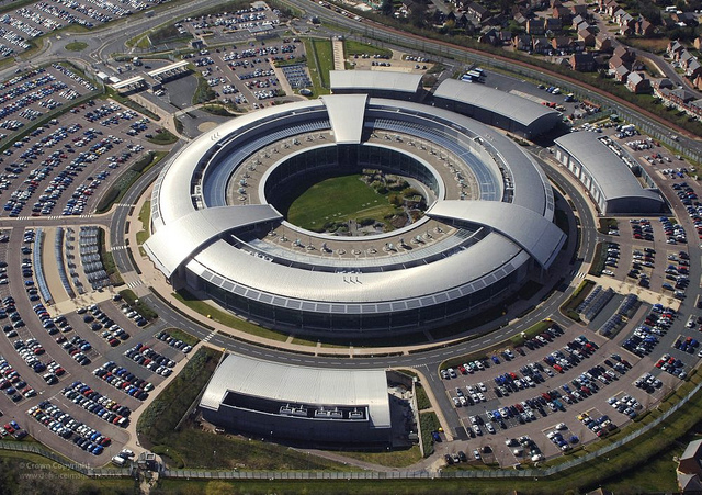Le GCHQ à Cheltenham, dans le Gloucestershire. (Photo UK Ministry of Defense)