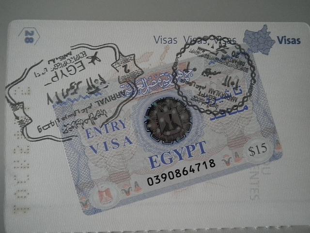 Les visas court-séjour ne seront bientôt plus qu'un lointain souvenir en Egypte. (photo Flickr/Valerie Hukalo)