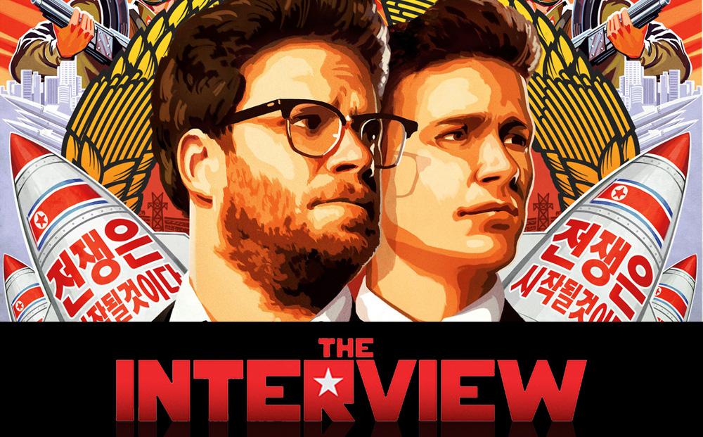 """L'affiche du film The Interview, à l'origine de l'affaire du """"Sony Gate"""". (image Sony Pictures)"""