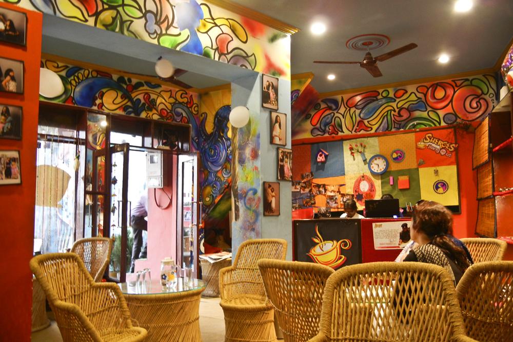 L'intérieur du Sheroes Café. (photo AgatheRigo/8e étage)