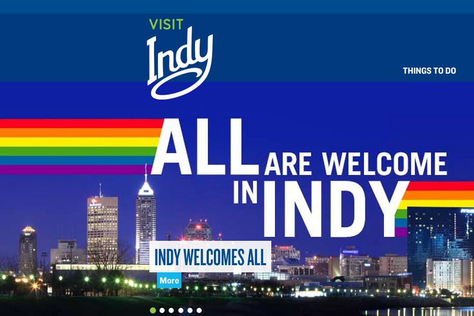 L'office de tourisme d'Indianapolis veut vraiment vraiment que vous sachiez qu'elle n'est pas homophobe.(capture Visit Indy)