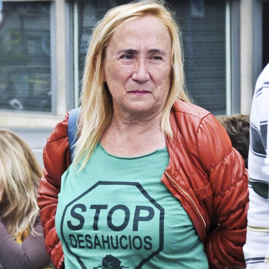 Maite, bénévole à Alicante. (photo CamilleJourdan/8e étage)