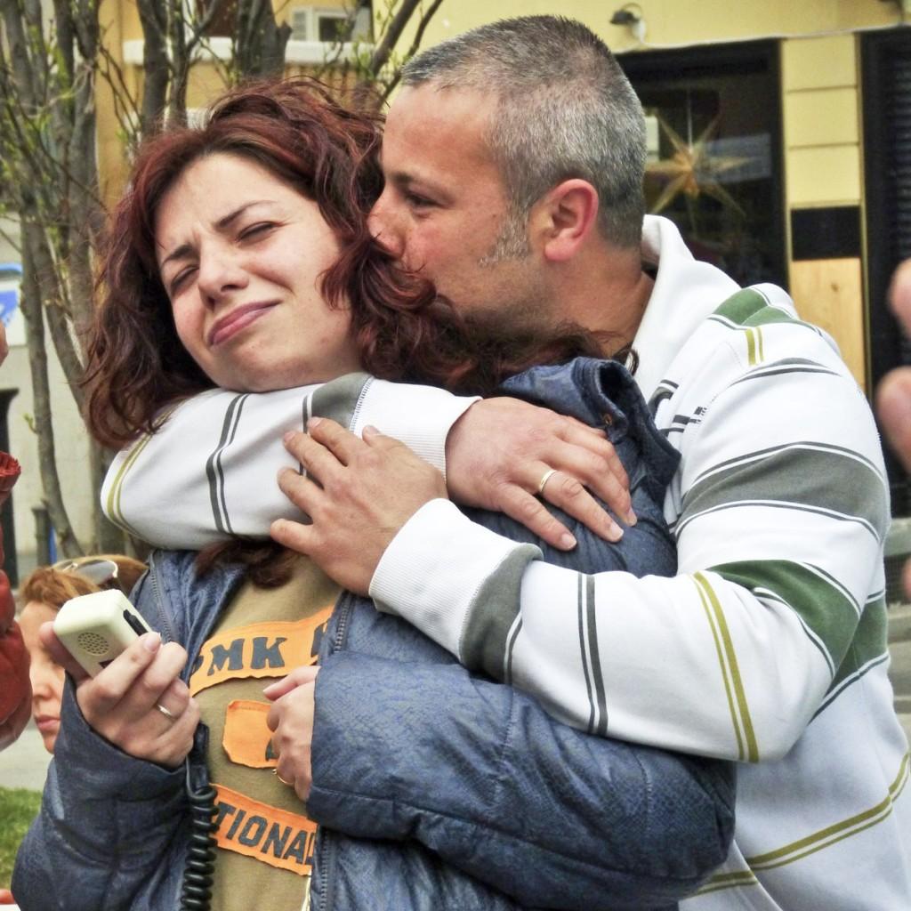 Sonia et son mari Paco viennent de signer un accord avec leur banque. (photo CamilleJourdan/8e étage)