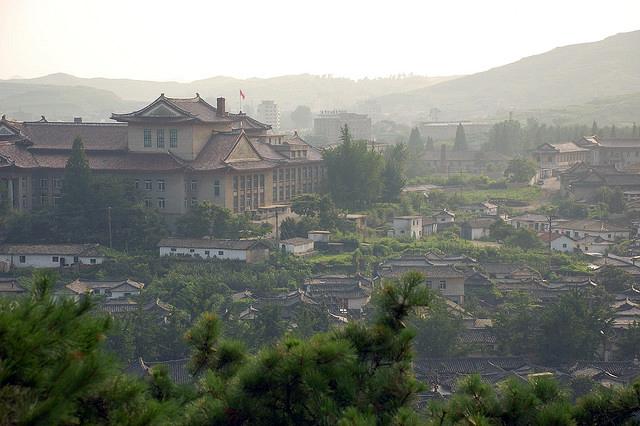 Vue de la ville de Kaesong en 2007. (Photo Flickr/(stephan)