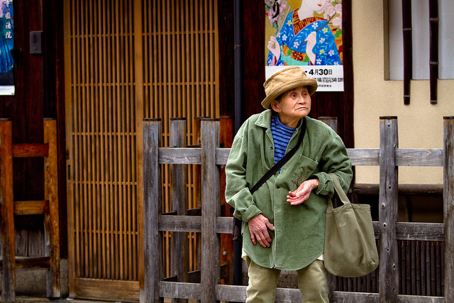 En 2025, Tokyo devrait compter 5,7 millions âgées (Photo Flickr / Elvin)