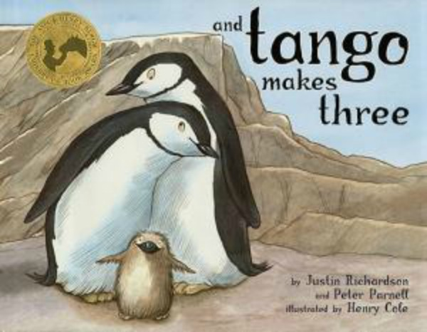"""And Tango makes three"", livre co-écrit par Peter Parnell et Justin Richardson"