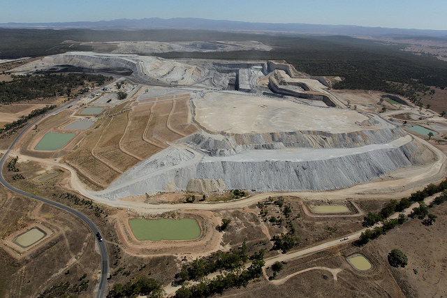 La mine de Tarrawonga en Nouvelle-Galles du Sud, Australie. (Photo Flickr/ Leard State Forest)