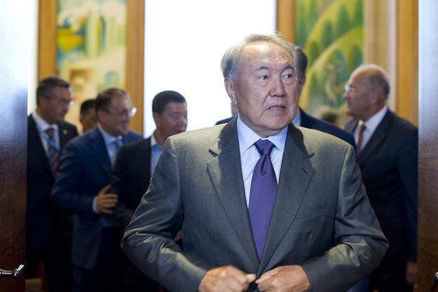 60 ONG présentes au Kazakhstan ont signé une pétition demandant au président kazakh, Nursultan Nazarbayev, au pouvoir depuis 1991, de poser son véto face à une proposition de loi ciblant le financement des ONG. (Photo Flickr/UN Geneva)