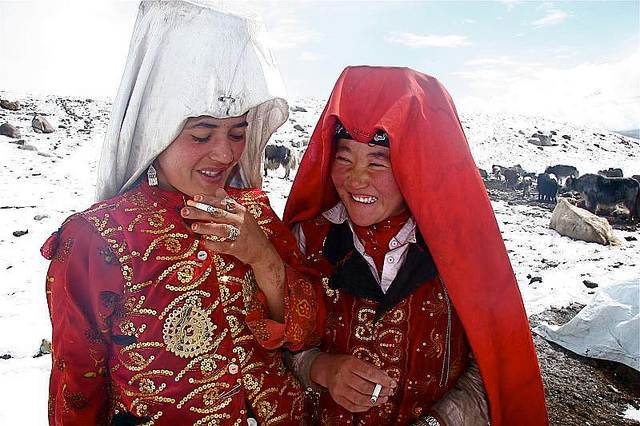 En 2012, 28% des femmes du Kirghizistan affirmaient avoir déjà été victimes de violences domestiques. (Photo Flickr - seair21)