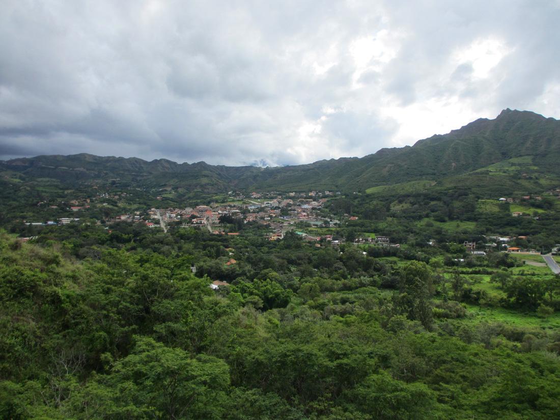 Vilcabamba vue des montagnes. (Photo Grégoire Nartz/8e étage)