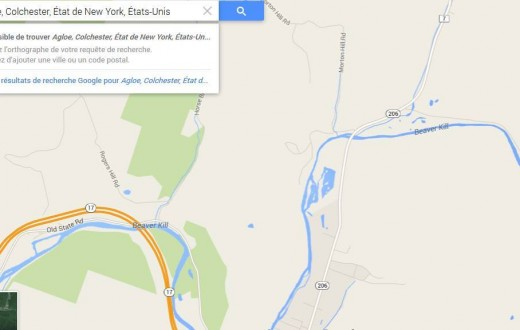 Depuis peu, Agloe n'existe plus sur Google Maps.
