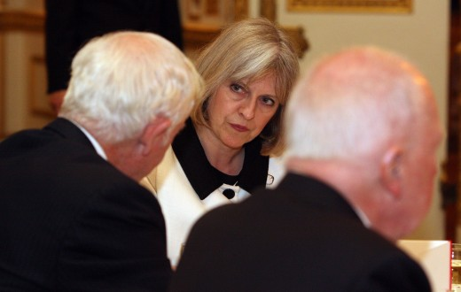 Theresa May au Bureau des Affaires étrangères et du Commonwealth. (photo Flickr/foreign & commonwealth office)