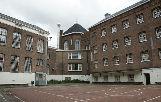 Une prison de Rotterdam (photo flickr/havankevin)