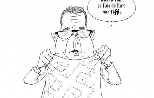 Dessin par Florian Pigé (Florian Pigé/8e étage)