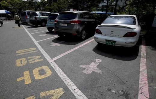Les nouvelles places de parking de Séoul. (photo EPA)