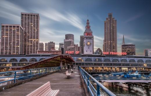 """Fisherman's Wharf, """"le quai des pêcheurs"""", est un des quartiers les plus touristiques de San Francisco. (photo flickr/chris.chabot)"""