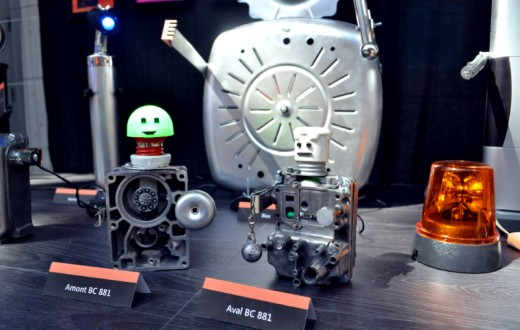 Les robots d'Alice, fruits de l'upcycling. (photo 8e étage/Patrick Randall)