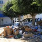 Montagne de déchets à Houmt Souk, chef lieu administratif de Djerba. (photo Sylvia Schulz)