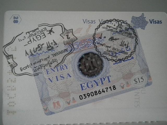 visa pour aller en egypte