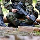 Un HK G36, un des fusils incriminés. (photo flickr/Dirk Vorderstraße)