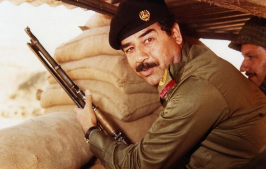 Saddam Hussein. (photo wikipedia)