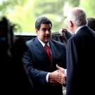Le président du Venezuela Nicolas Maduro, en présence de Ernesto Samper, secrétaire général de l'UNASUR, 2014. (photo flickr/dgcomsoc)