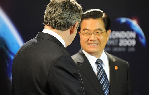 Hu Jintao avait accordé 18 milliards d'euros d'aide aux pays africains en 2012 (Photo Flickr / Downing Street)