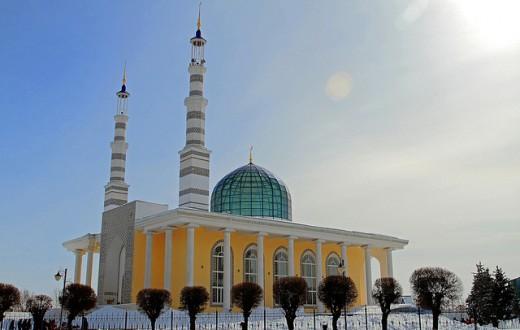 L'une des mosquées de la ville d'Oural. (Photo Flickr/Darin House)