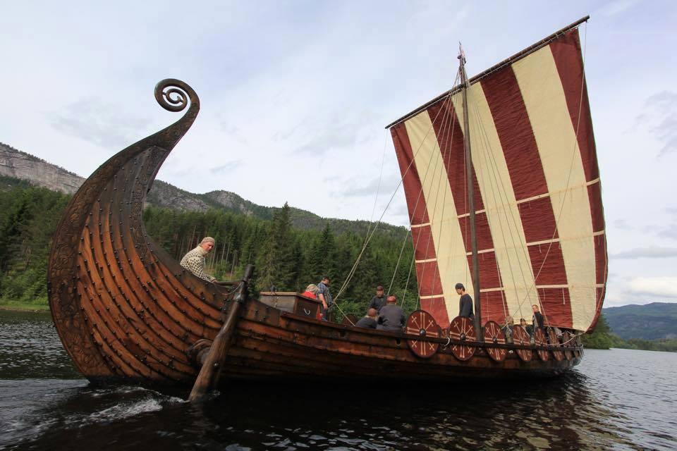 Дракар викингов картинки внешность