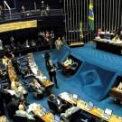Le Sénat est l'une des deux chambres du congrès au Brésil. Photo Wikipedia