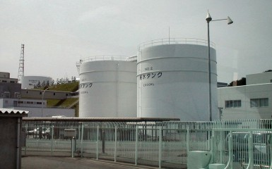 La centrale nucléaire de Fukushima, au Japon, a été le lieu d'un important accident en mars 2011. Photo Wikimedia Commons