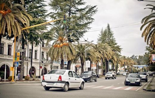 Soukhoumi est la capitale de la région séparatiste d'Abkhazie. (Photo Flickr/Marco Fieber)