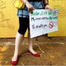 """""""Pinjra Tod"""", pour """"briser la cage"""", est une campagne qui dénonce les couvre-feu destinées uniquement aux femmes en Inde. (Photo Twitter)"""