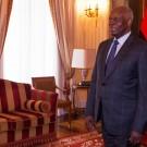 Le président de la république d'Angola, José Eduardo dos Santos, 2015.  (photo Romério Cunha)