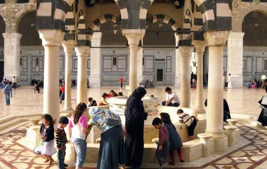 Mosquée des Omeyyades, Damas. (Photo Victor Cavasino/8e étage)